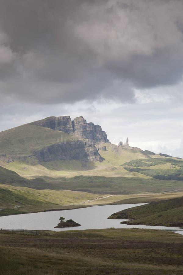 Old Man of Storr; Isle of Skye; Scotland stock photos