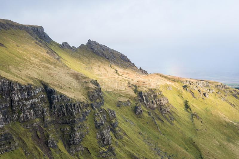 Old Man of Storr in Scotland, isle of Skye stock photo