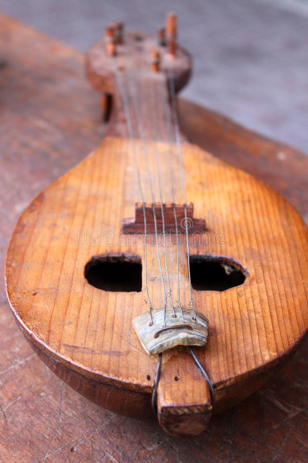 Download Old mandolin stock image. Image of carved, historical - 33902997