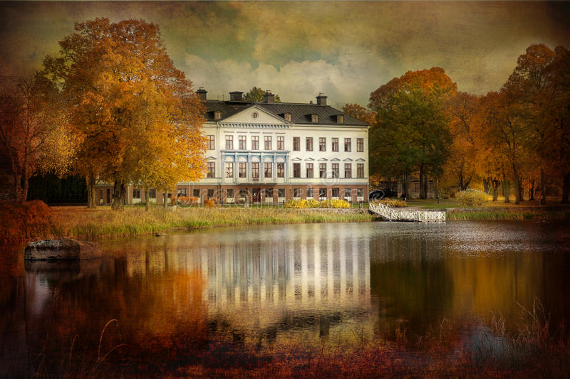 Old mansion. stock image