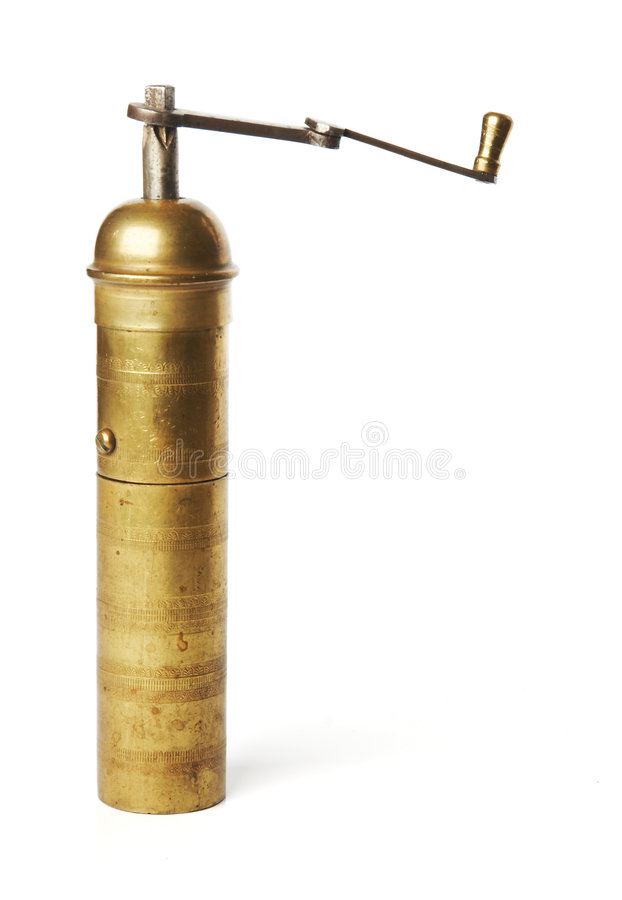Download Old manual coffee grinder stock photo. Image of kitchen - 3599164