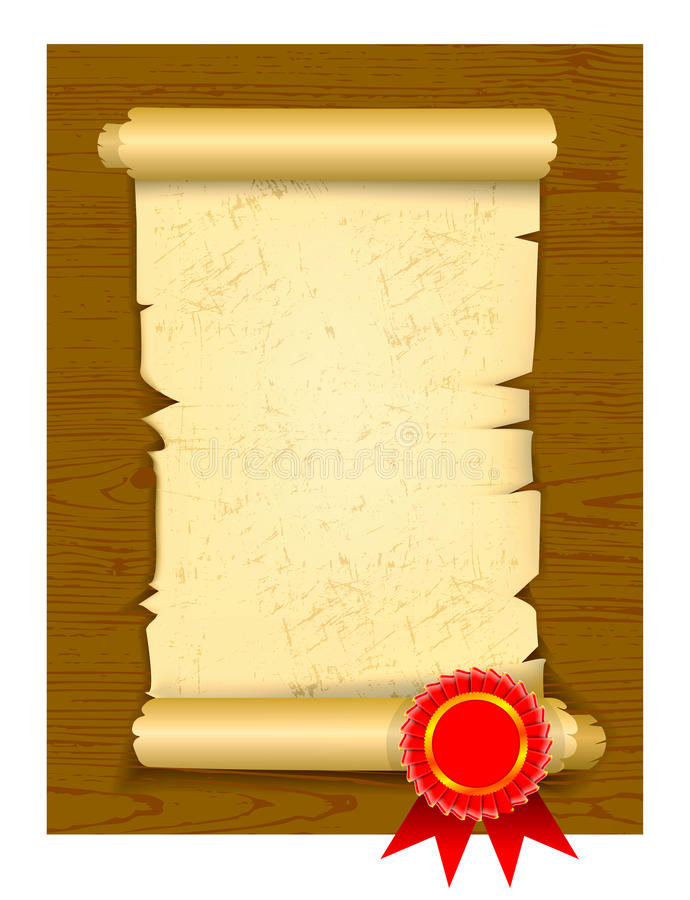 Download Old Manuscript On Wooden Floor Stock Photo - Image: 20286060