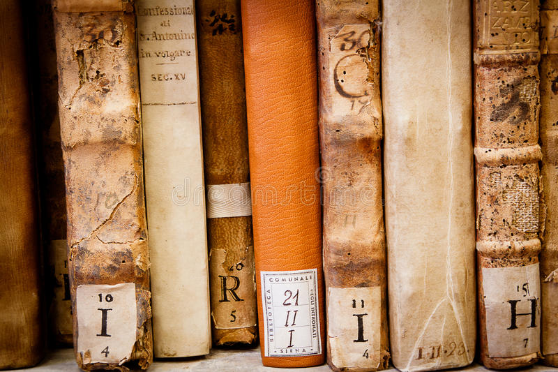 Old manuscripts royalty free stock image