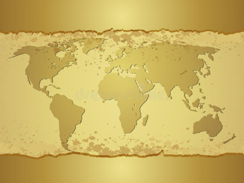 Download Old map stock vector. Image of global, history, journey - 22021846