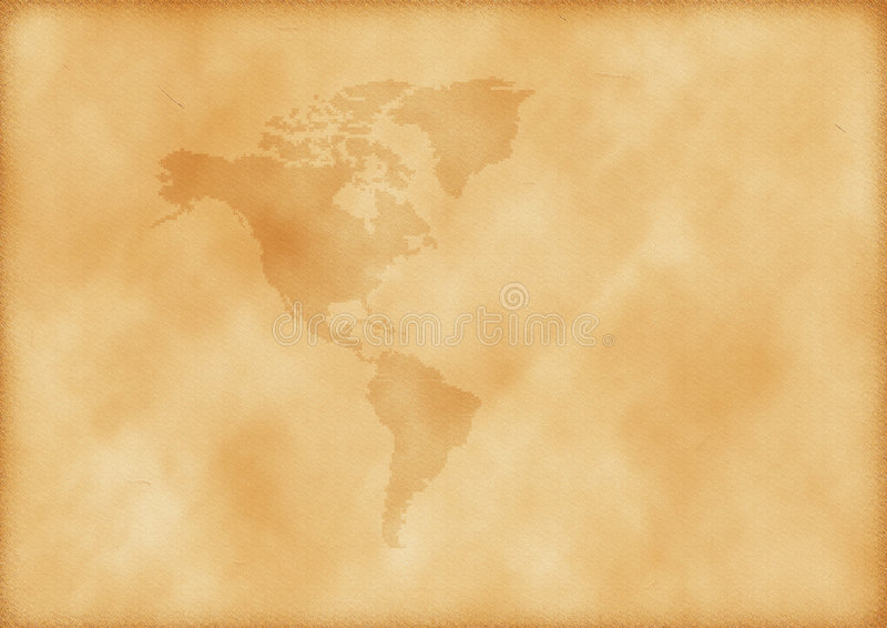 Download Old map of America stock image. Image of texture, rustic - 7319419
