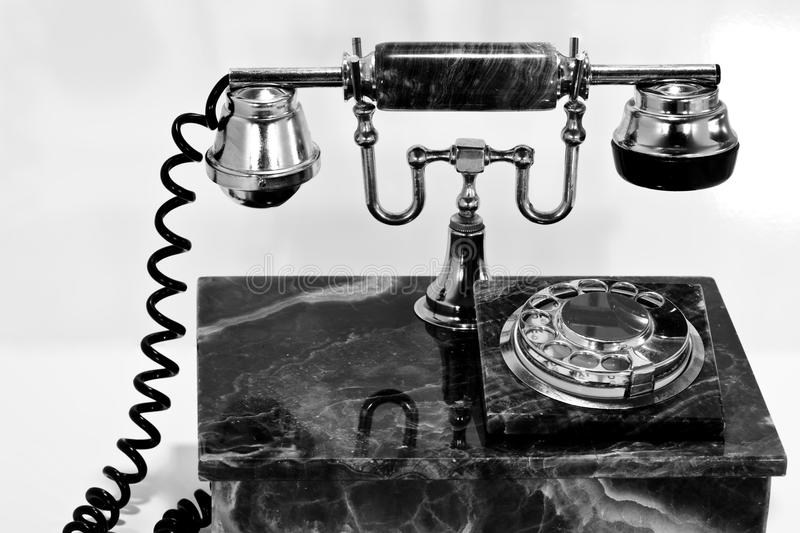 Download An old marble telephone stock image. Image of circle - 14798879