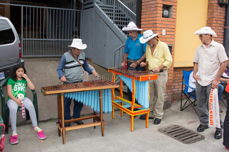 Marimba band stock photography