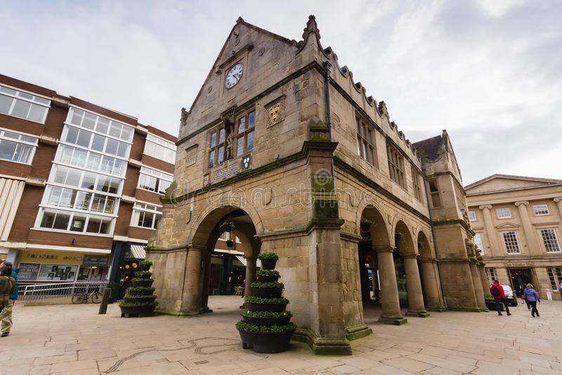 Market Hall Shrewsbury stock photography
