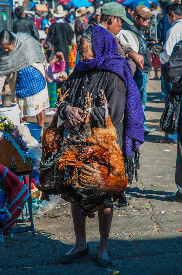 An Old Market Woman Selling Chicken Editorial Image ... Old Market Woman