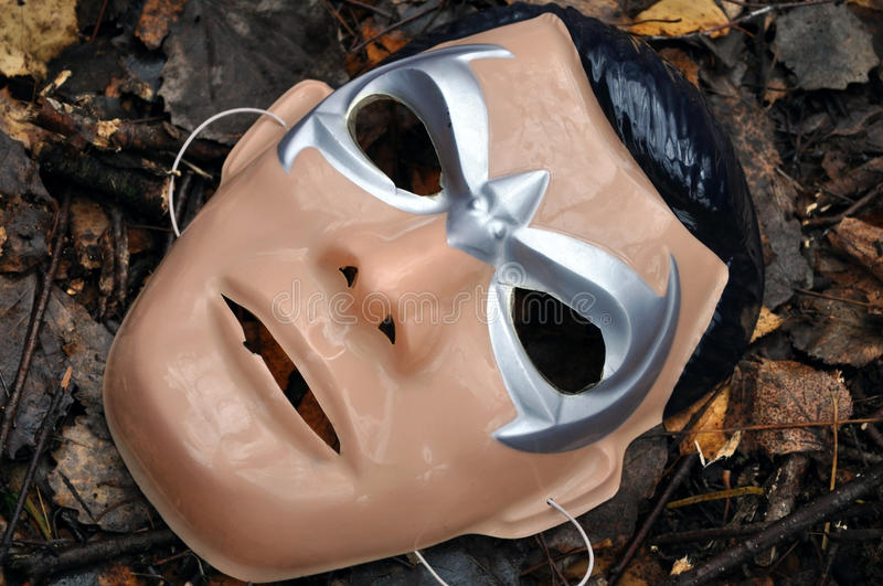 Old mask of Batman stock images