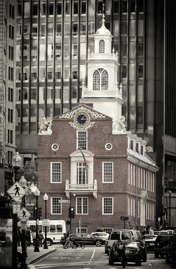 Download Old Massachusetts State House Editorial Photo - Image of politician, downtown: 33815036