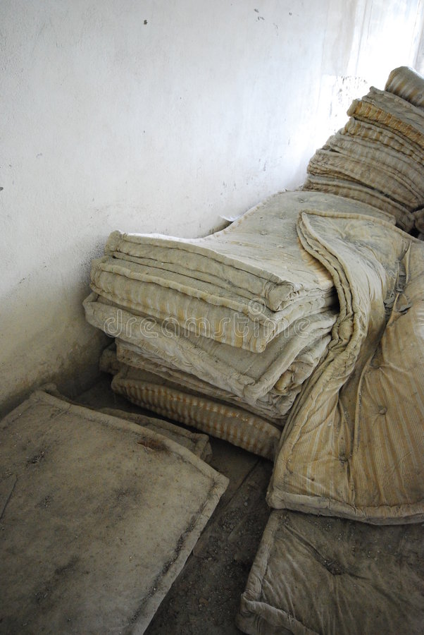 Download Old Mattresses Royalty Free Stock Photography - Image: 2586187