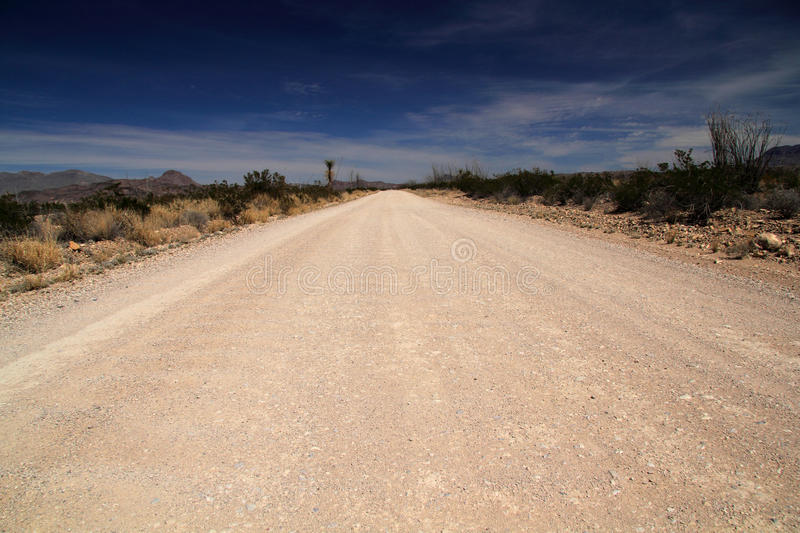 Old Maverick Road. Big Bend National Park, Texas royalty free stock photography