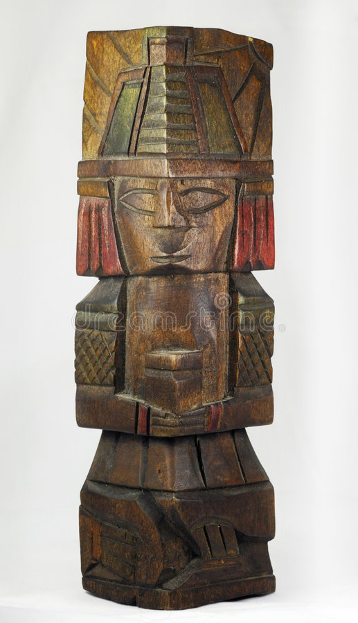 Download Old Mayan sculpture stock image. Image of sculpture, american - 7873049
