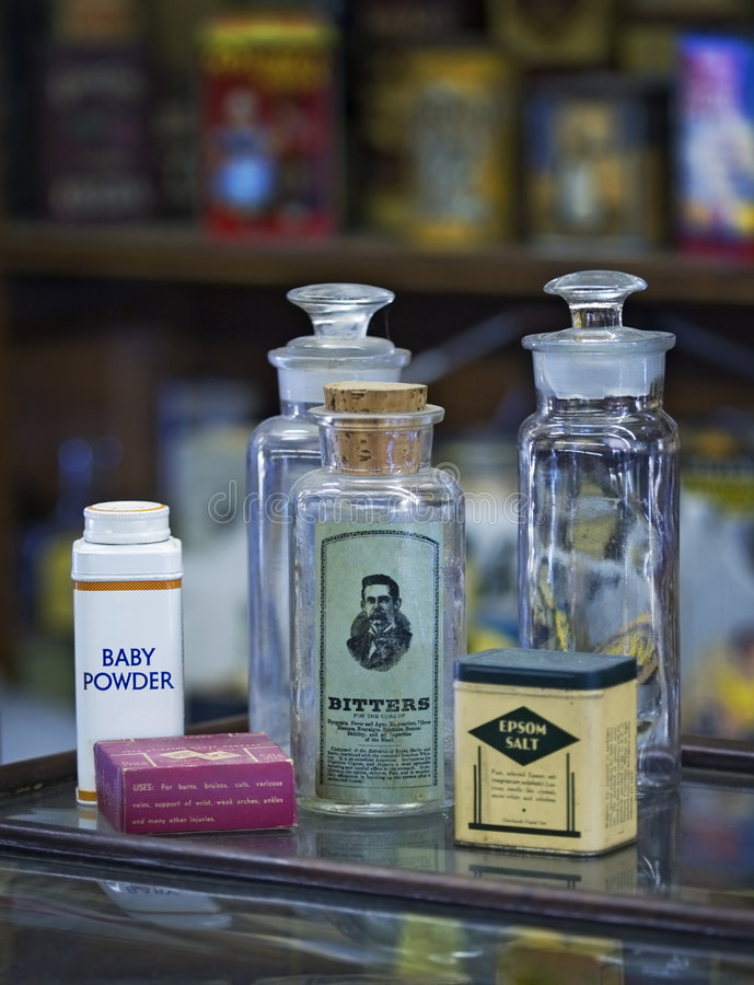 Download Old Medicine Bottles stock image. Image of fashioned, powder - 1138895