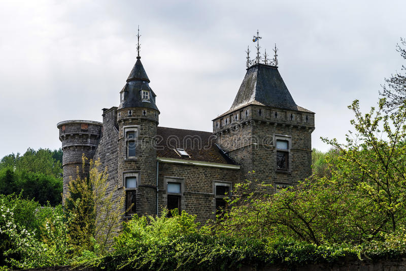 Old medieval castle royalty free stock images