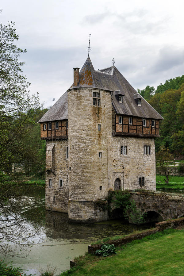 Old medieval castle royalty free stock photos