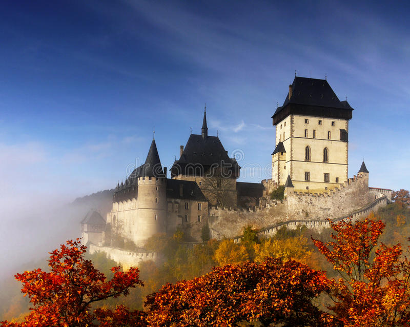 Old Medieval Castle Landmark royalty free stock photography