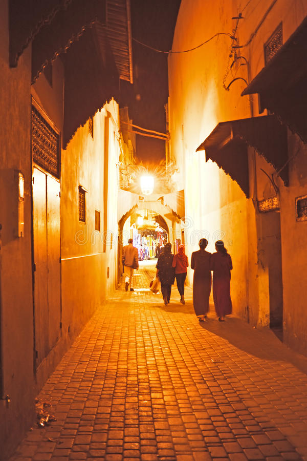 Download In The Old Medina From Fes Morocco Stock Photo - Image: 39066658