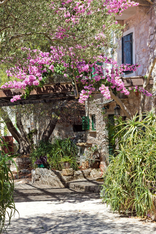 Old Mediterranean house royalty free stock images