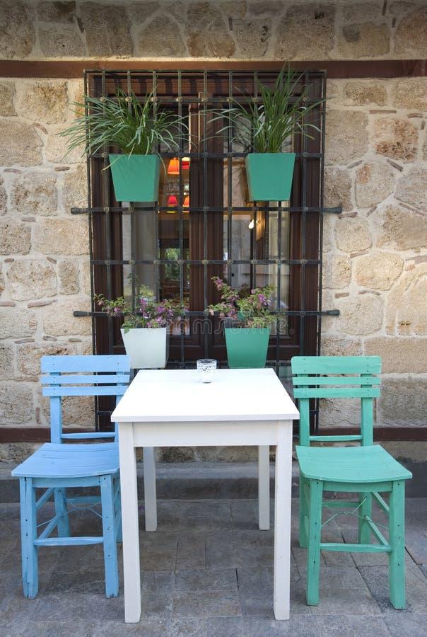 Download Old Mediterranean Restaurant Stock Photo - Image: 18929806
