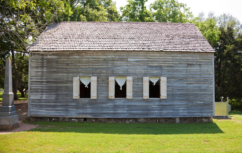 Download Old meeting Hall in Texas stock image. Image of shutters - 24434515