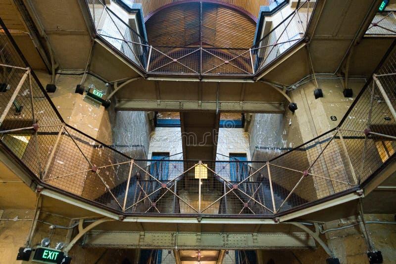 Old Melbourne Gaol. In Victoria, Australia. Photo taken on 11th April, 2015 royalty free stock photo