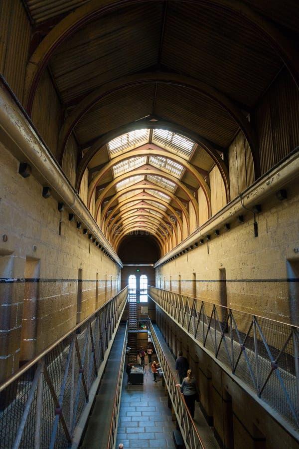 Old Melbourne Gaol. In Victoria, Australia. Photo taken on 11th April, 2015 stock photos