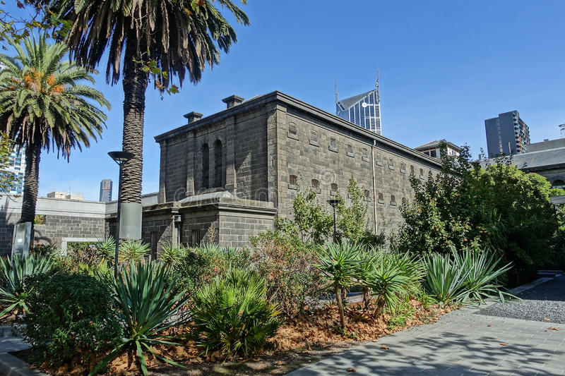 Old Melbourne Gaol. In Victoria, Australia. Photo taken on 11th April, 2015 royalty free stock photos