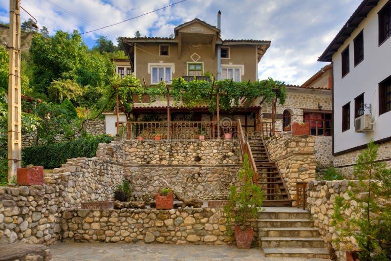 Old Melnik House-Museum royalty free stock photos