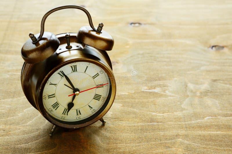 Download Old metal alarm clock stock photo. Image of closeup, coffee - 41098702