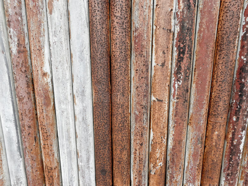 Old metal bars background texture stock images