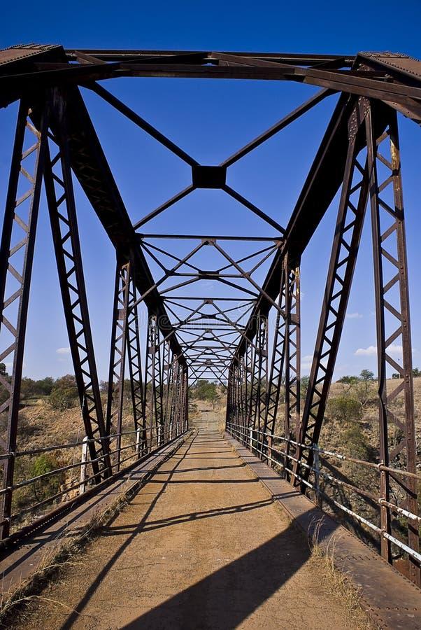 Download Old Metal Bridge - Portrait V01 Stock Photo - Image of narrow, steel: 8075416