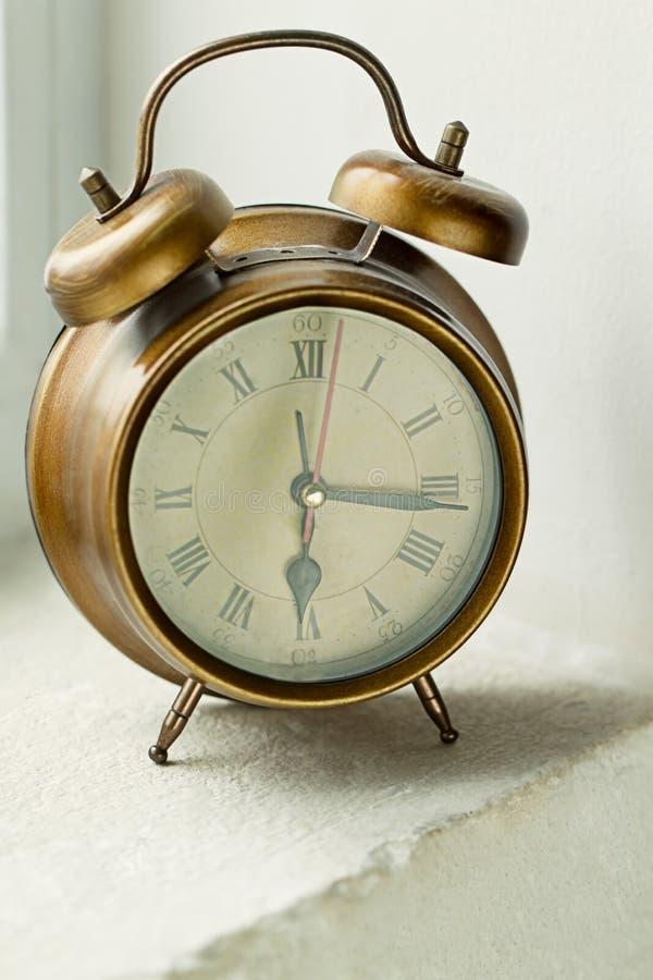 Download Old metal clock stock image. Image of retro, metal, bell - 24890973