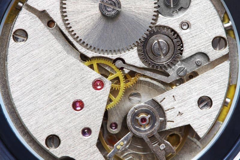 Old metal clockwork royalty free stock photos