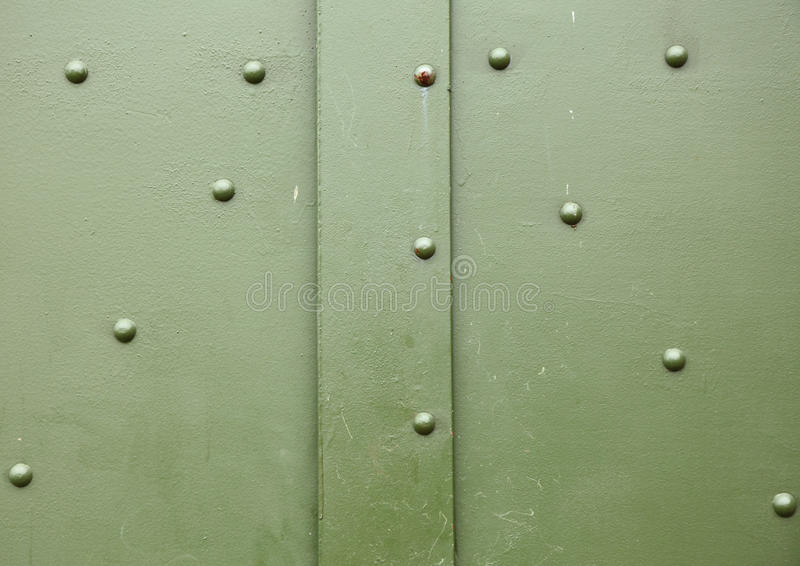 Old metal green background texture stock images
