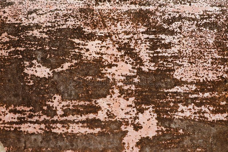Old metal iron rust texture. Background texture of rusted steel stock photography