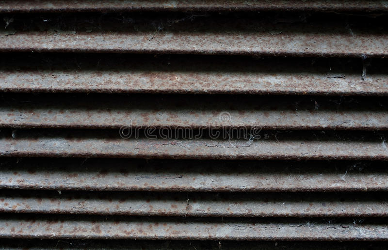 Old metal jalousie royalty free stock photography