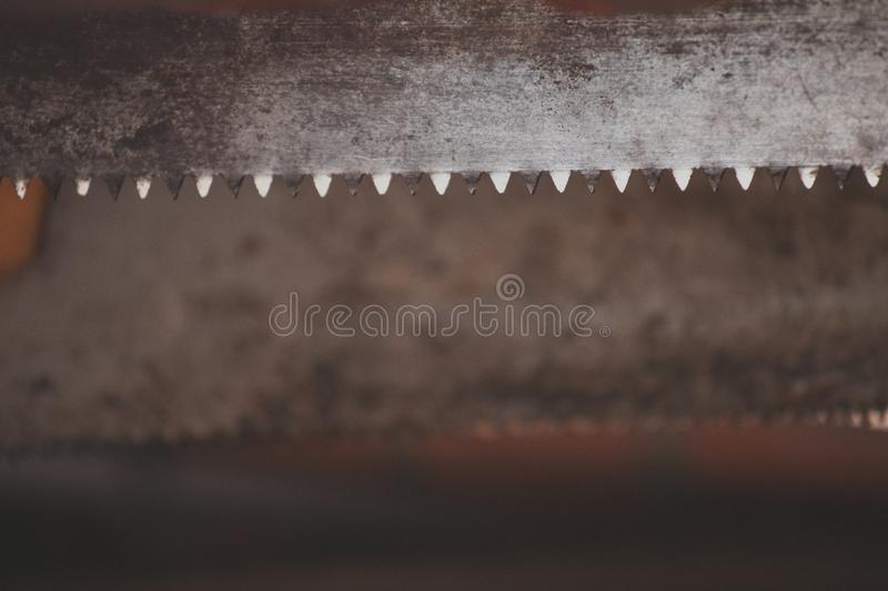 Old Metal sawtooth background village royalty free stock images