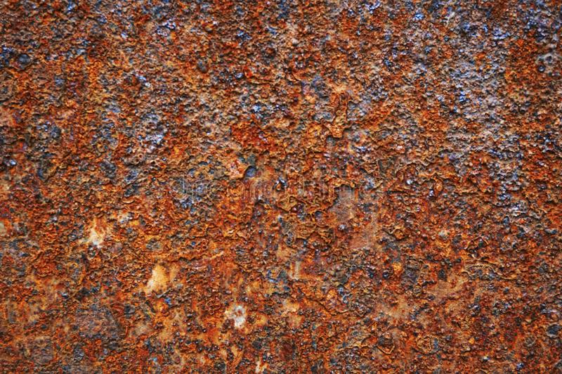 Old metal sheet of iron with rust. Abstract background. stock photos