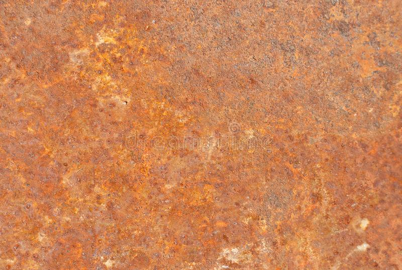 Old metal texture. Iron surface rust. Old grunge rustic metal texture use for background stock photo