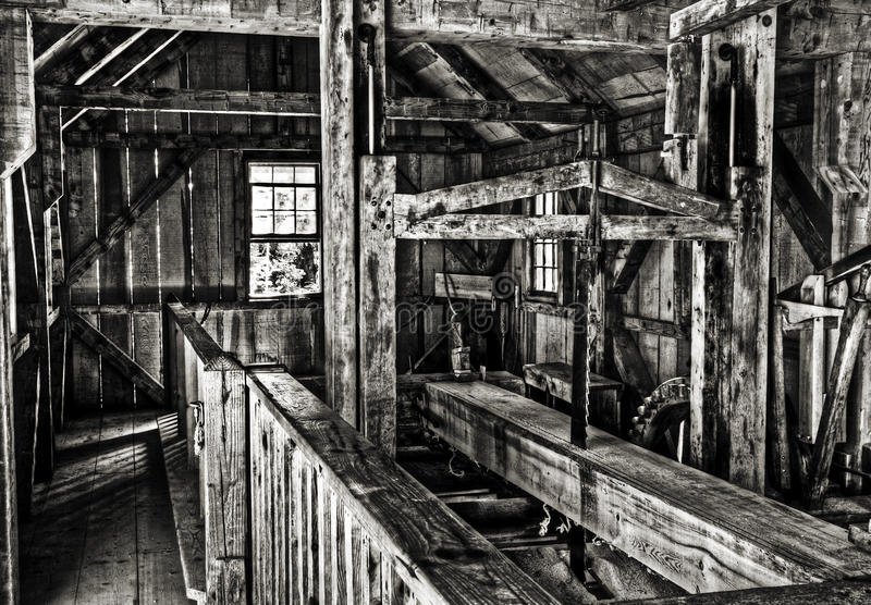 Download Old Michigan sawmill stock photo. Image of antique, vintage - 20571526
