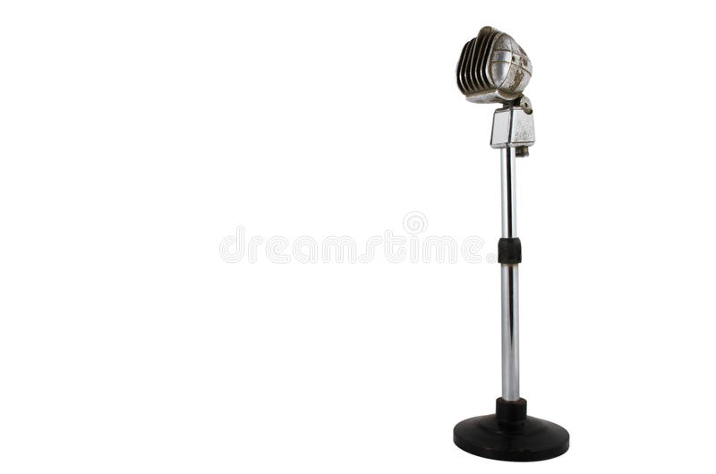 Download Old microphone stock image. Image of rock, recording - 23883161