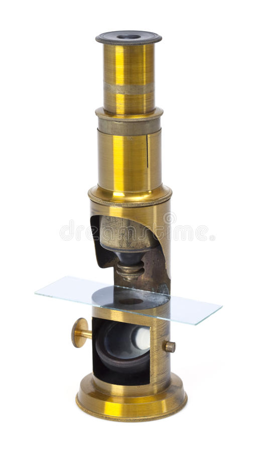 Download Old microscope stock image. Image of medicine, antique - 25416907