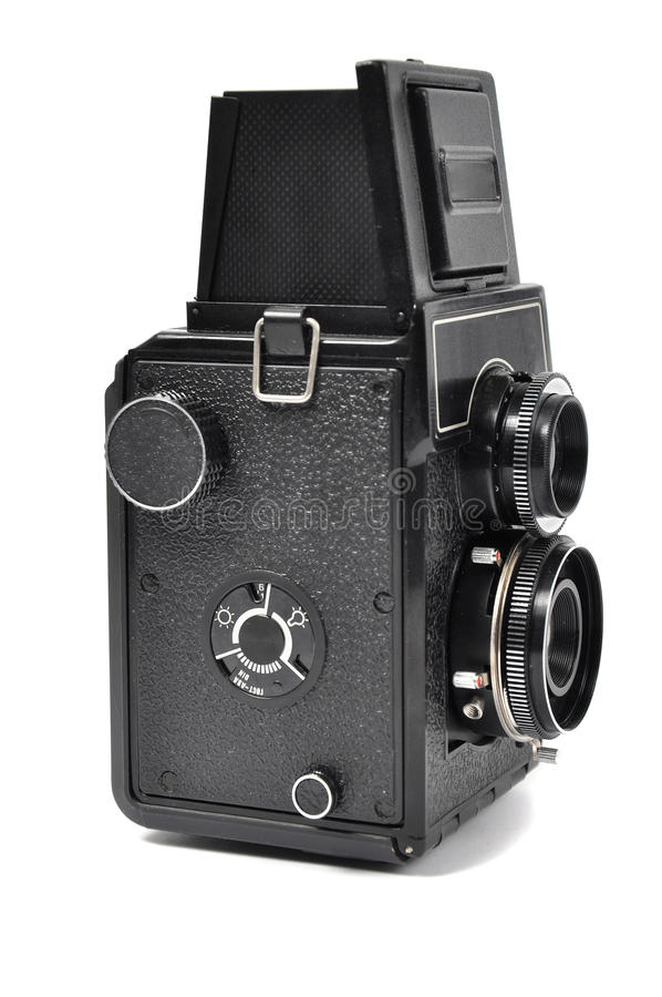 Download Old middle-format camera stock photo. Image of antique - 16536520