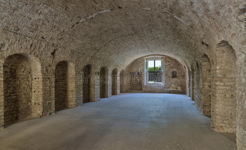 Download Old Military Barrack Interior . Stock Photo   Image Of Dark,  Architecture: 59132316