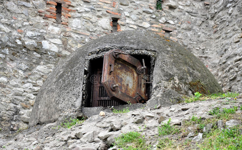 Download Old military bunker stock photo. Image of iron, object - 39514838