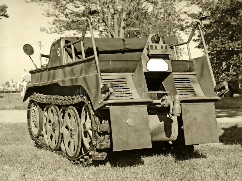 Old Military Vehicle Royalty Free Stock Photo