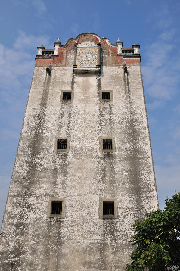 Download Old Military Watchtower Of Southern China Stock Image - Image: 12836873