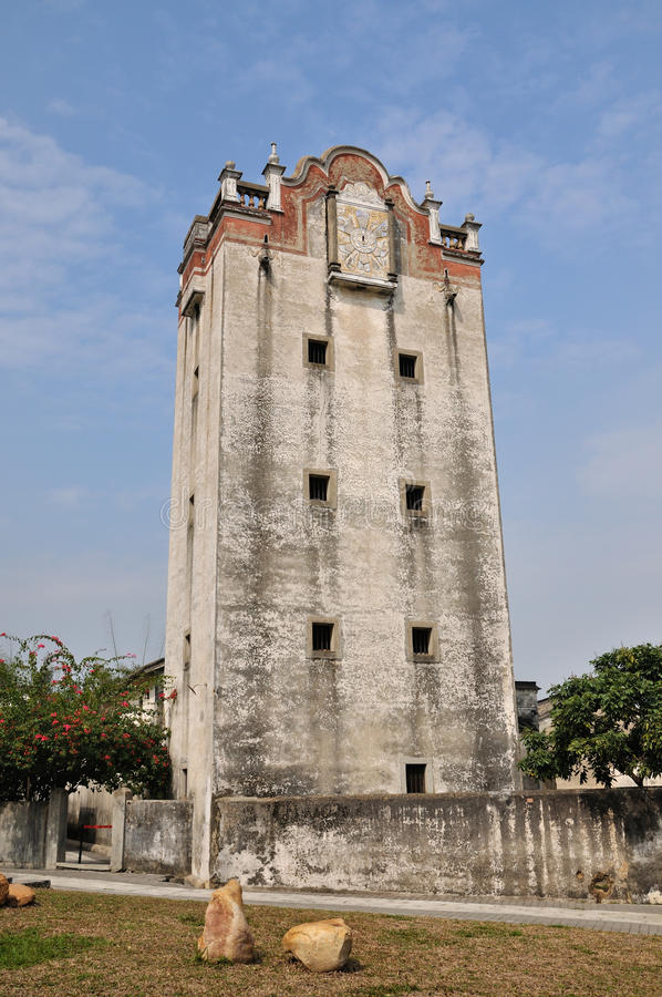 Download Old Military Watchtower In Yard Of Southern China Stock Image - Image of travel, chinese: 12832785